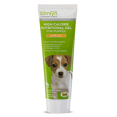 Tomlyn High Calorie Nutritional Gel for Puppies, (Nutri-Cal) 4.25 oz