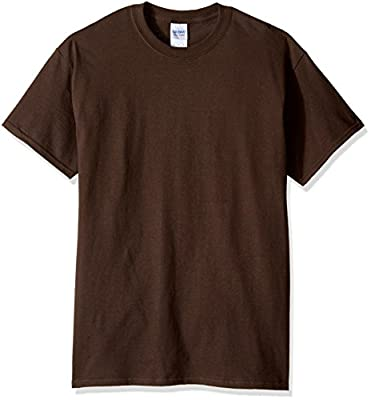 Gildan Men's G2000 Ultra Cotton Adult T-shirt, Dark Chocolate, X-Large