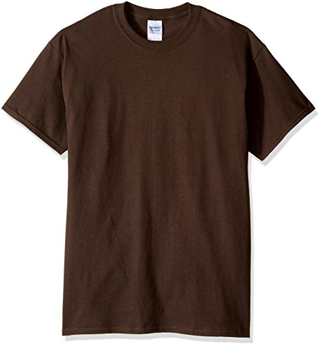 Gildan - Camisa para Hombre Marrón marrón Chocolate XL