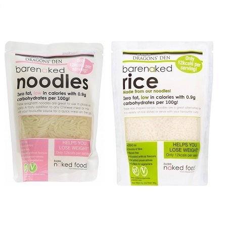 Barenaked Noodles & Rice 380 g (Mixed Case of 6)