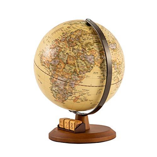 Jopjdpdsf Globo Terraqueo,Antiguo Relieve Globe 25Cm Escritorio Creativo Decoración De La Habitación Regalo De Estilo Americano