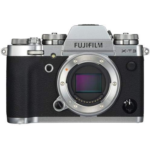 Best Buy! Fujifilm X-T3 Mirrorless Camera Body, Silver - with Fujifilm XF 16mm F1.4 R WR Lens