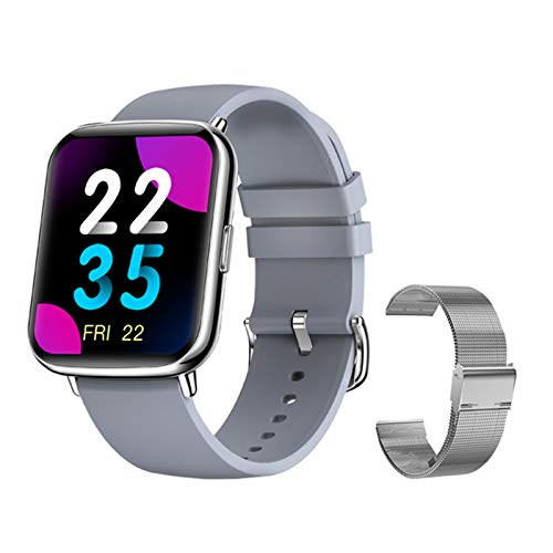 Bluetooth X27 2021 Smart Watch IP68 Impermeable Smartwatch Clock Fitness Tracker Ladies Sports Watch Soporte DIY Dial para iOS Android,I