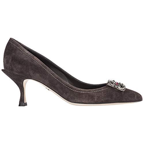 Dolce&Gabbana Women Lori Pumps Grigio 6.5 US