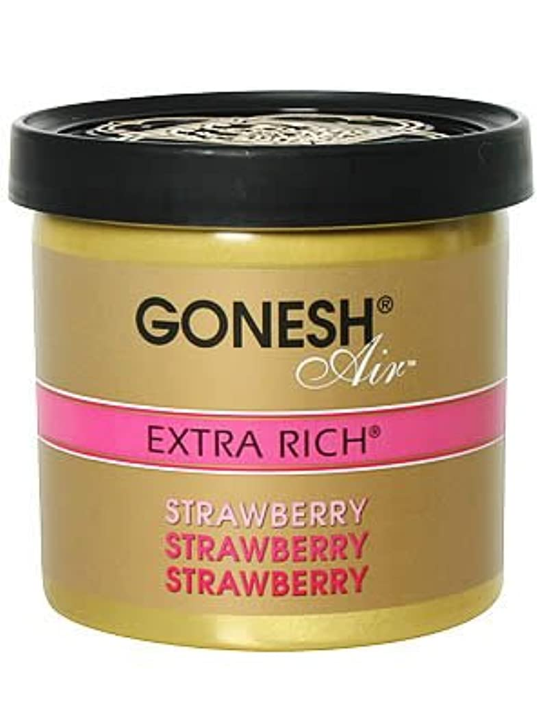 ルネッサンス政府ステージガーネッシュ(GONESH) ゲルエアフレッシュナー ストロベリー 78g