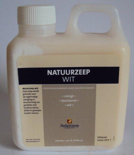 ParketGroep Holzseife / Naturseife flüssig, zur Reinigung und Pflege für Holzböden, Möbel und Parkett, 1 Liter