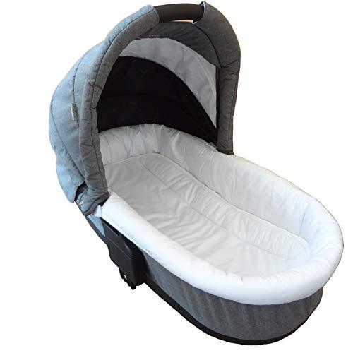 EINLAGE KINDERWAGEN mit GONDEL universal Matratze Auflage Sitzauflage Babywanne