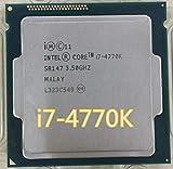 DIPU WULIAN Core i7 4770K i7-4770K SR147 3.5GHz Quad-Core CPU I7-4770K Desktop...