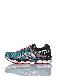 ASICS Women's Gel-Cumulus 16 Trail Running Shoes, Multicolor (Gris / Multicolor), 44.5 EU