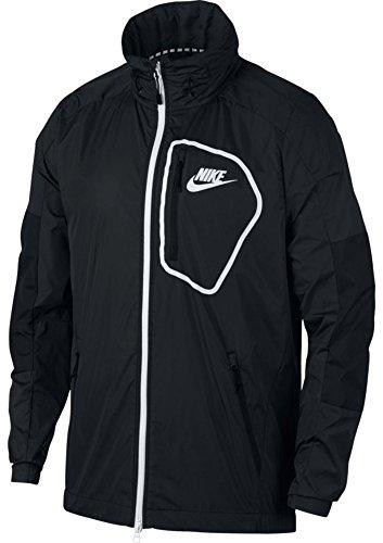 Nike Sportswear Advance 15 Woven, Giacca Uomo, Black/White, S