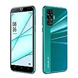 Teléfono móvil libre 4G Android 9.0 6,3 Waterdrop Pulgadas Smartphone 3G RAM 32/SD 128GB ROM, Face...