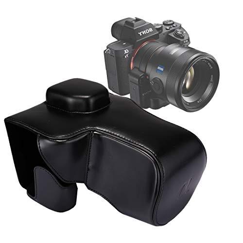 Consumer YHM Ganzkörperkamera PU-Ledertasche mit Trageriemen für Sony A7 II / A7R II / A7S II (Schwarz) (Color : Black)