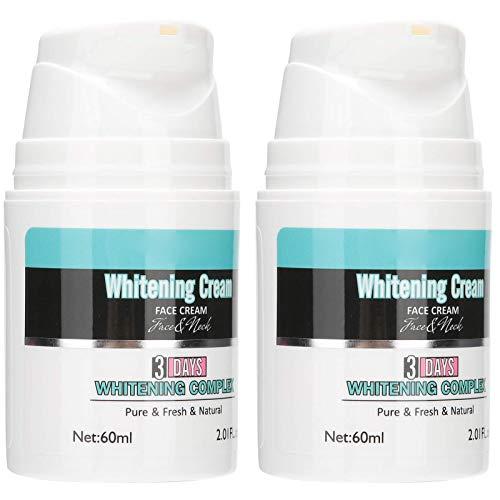 Crema facial blanqueadora, crema facial blanqueadora hidratante para la piel, crema facial reparadora, crema blanqueadora, hidratante facial diario para piel seca