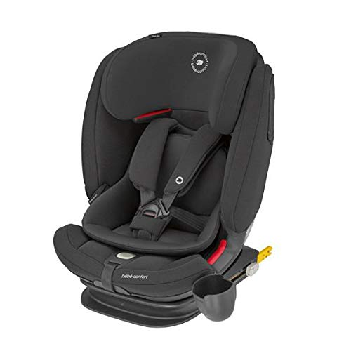 SEGGIOLINO AUTO TITAN PRO ISOFIX AUTHENTIC BLACK