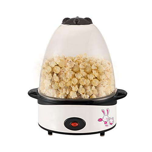 Best Prices! ZUEN Electric Popcorn Machine Automatic Mini Hot Air Popcorn Machine Home DIY Pop Rice ...