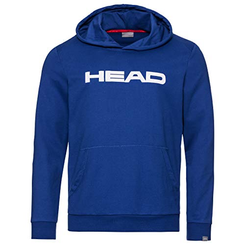 HEAD Kinder CLUB BYRON Hoodie JR Hoodie, royal white, 152