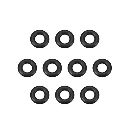 sourcing map 10stk. O-Ring Nitril Gummi Dichtungsringe Dichtung 6mm x 12mm x 3mm DE de
