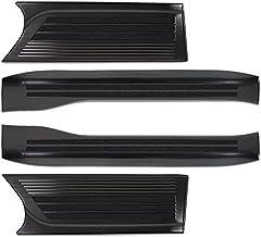 サムライプロデュース ホンダ N-BOX N-BOXカスタム JF3/4 スカッフプレート ブラックステン 内装品 保護 カスタム パーツ