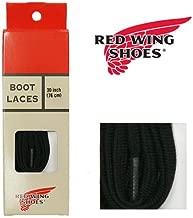 (レッドウィング) REDWING 純正 フラット ナイロン ブーツレース ブラック 30インチ (76cm) 靴紐 Style No.97120 シューレース 靴ひも
