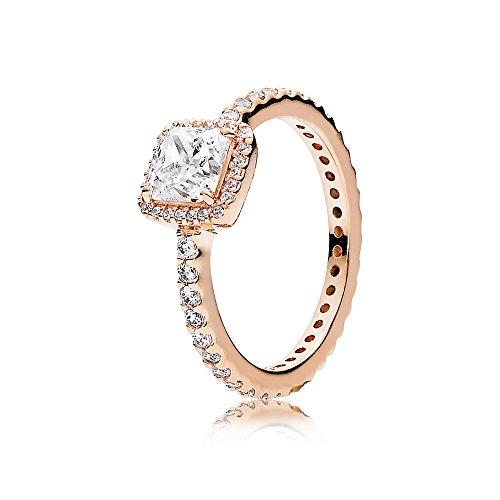 Pandora Damen Ring Zeitlose Eleganz Rosé 180947CZ-60