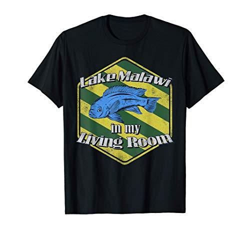 Malawisee Cichliden Mbuna Buntbarsch Aquarium Aquarianer T-Shirt