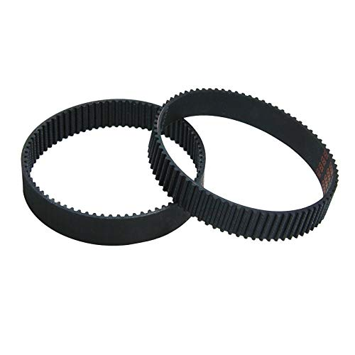 XBaofu 2pcs HTD Planer Timing Belt Drive 2604736001Replacement for Bosch 3365 3272A PHO1 PHO100 PHO15-82 PHO16-82 PHO20-82 GHO14.4V