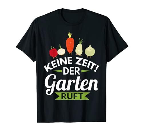 Hobbygärtner Gärtner Spruch Opa Rentner Vatertag Geschenk T-Shirt