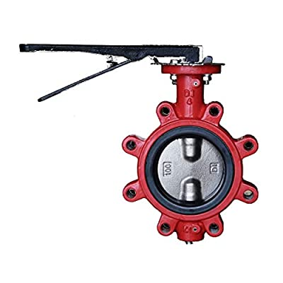 Butterfly Valve | Lug | Buna Seat | Size 4"