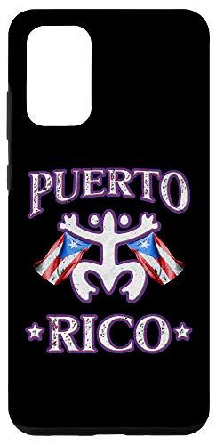 Galaxy S20+ Boricua Gift Bandera de Puerto Rico Flag Boriken Coqui Taino Case