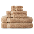 JCPenney Home 6 pc Towel Set