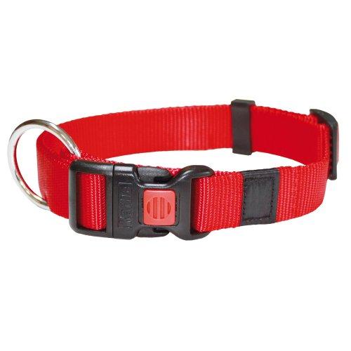 Karlie Art Sportiv Plus Halsband, 15 mm 30-45 cm, Verstellbar, rot