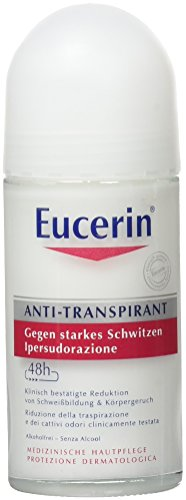 Eucerin Deodorant Antitranspirant Roll on 48 h, 50 ml
