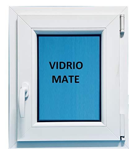 (V26M) Ventana Pvc 600x700 Derecha Oscilobatiente Practicable Mate