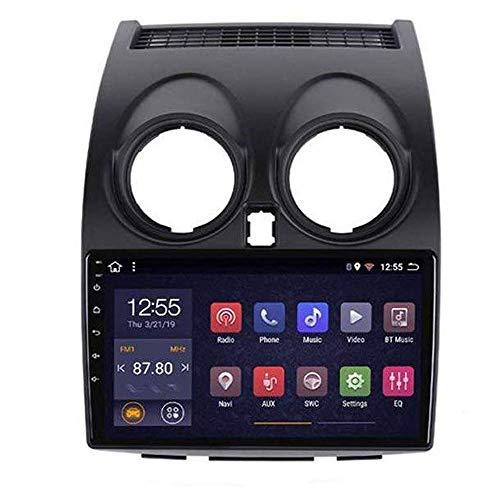 Radio de coche Android 8.1, GPS, 9 pulgadas, 1080P, pantalla táctil HD, estéreo, TV, para Nissan Qashqai 2006-2013, con control en el volante, Bluetooth, manos libres, Link SWC, 4G + WiFi 2G + 32G