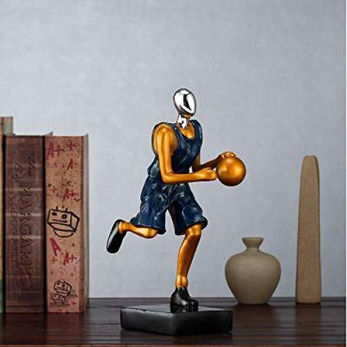 Escultura Estatua De Escultura Adornos Estatuas Esculturas Esculturas Estatuas Adornos Estatuilla Figuras Coleccionables Baloncesto Moderno Americano Figura Deportiva Escultura Estatua Del Porter