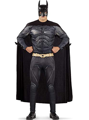 Funidelia | Déguisement Batman Officielle pour Homme Taille L ▶ The Dark Knight : Le Chevalier Noir, Super héros, DC Comics