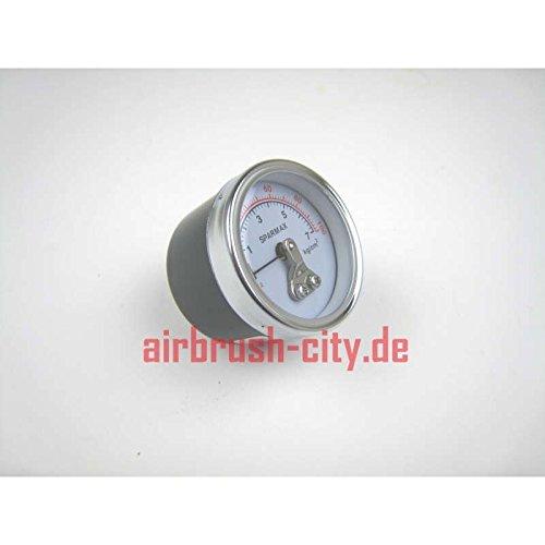 Airbrush compressor, manometer, aansluiting aan de achterkant, G1/8 persluchtcompressoren.