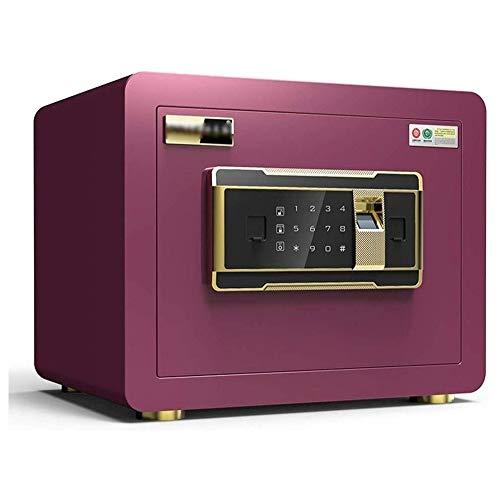 buenos comparativa Caja fuerte digital LKNJLL, caja fuerte biométrica para huellas dactilares, caja fuerte mural, cajón portamonedas … y opiniones de 2021