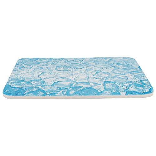 TRIXIE Alfombrilla Refrescante, 28 × 20 cm, Azul, Pequeños