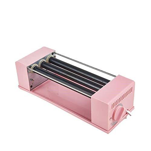 TWW Gebackene Schinkenwurst Maschine Regal Kleine Hot Dog Maschine Kleine Mini Schlafsaal Nach Hause Frühstücksmaschine Automatisch,Rosa