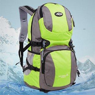 Randonnée plein air sac à dos sac à dos randonnée camping sac à dos pour les hommes et les femmes , army green