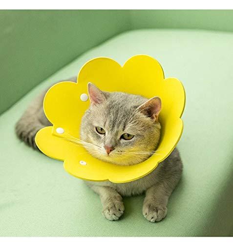 Collar para perro y gato para curar heridas con cono suave para prevenir la mordedura Elizabeth Circle Pet Protection Collar