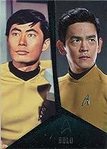 Star Trek TOS Captains Collection Bridge Crew Chase Card D5 Sulu Takei Cho