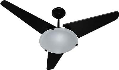 Ventilador Samatra 110/127V 3P, Tron, Preto