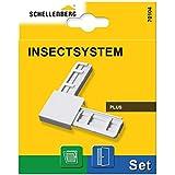 Schellenberg 70104Conector de esquina Set Plus para mosquitera para ventana y insectos Schuman tztüren–Blanco, 1pieza