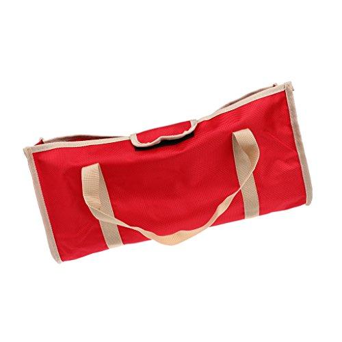 freneci Carpa Bolsa de Almacenamiento de Uñas Estacas de Carpa Clavijas Organizador de Estuche de Soporte de Bolsa Duradero