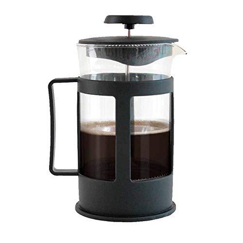 Cafetera Prensa Francesa de 1L vidrio tipo embolo french press ideal para compartir un cafe gourmet para 8 tazas