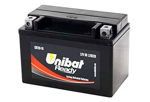 YTX9-BS Batteria Moto Completa di Acido Pronta all Uso UNIBAT READY CBTX9-FA