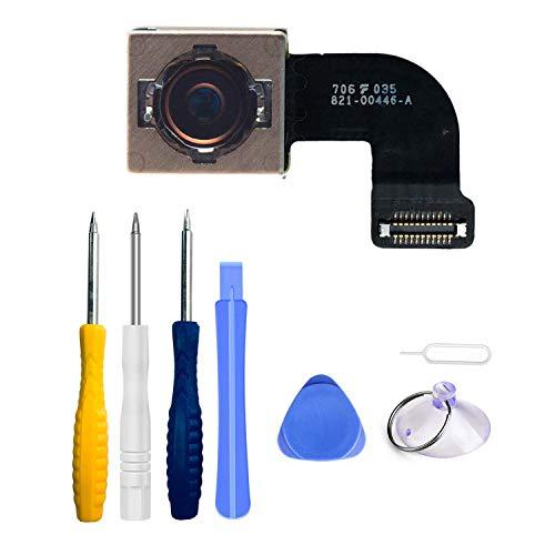 LTZGO Rückkamera Ersatz für iPhone 7 Hintere Kamera Haupt Back Rear Main Kamera Ersatzteil Hauptkamera mit Autofocus, Flex Kable - mit Öffnungs Werkzeug Schraubenzieher Reparaturset Werkzeuge