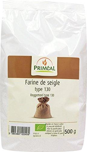 Priméal Farine de Seigle France T130 500 g BIO